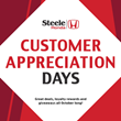 Steele Honda is Currently Hosting Its Customer Appreciation Days during the entire Month of October