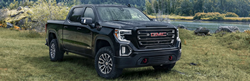 GMC Sierra 1500 front and side profile
