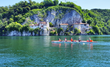 Rowing on Lake Maggiore