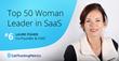 CallTrackingMetrics Co-Founder Laure Fisher Named Top Leader in SaaS