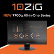 10ZiG Launches New 7700q All-In-One Series Thin & Zero Client at VMworld Europe and Also Announces Liquidware UX Integration