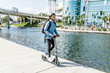 SWAGTRON's Swagger 7 Folding Electric Scooter Features a Swappable Battery