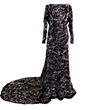 Famous Graffiti Gown To Hit Auction Block-Elizabeth Taylor, Joan Collins, Yoko Ono, Bette Midler & More