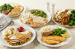 All eight of Bob Evans Dinner Bell Plates, part of the new Everyday Value dinner lineup, are among the over a dozen free meal options for veterans and active duty military personnel on November 11.