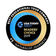 Naturalist Journeys Ranks Second in USA Today 10BEST Readers' Choice Travel Awards 2019 for Best Educational Tour Company