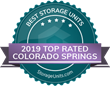 StorageUnits.com Names Top Storage Facilities in Colorado Springs, CO for 2019