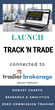 Leading Utah based software company sets out to redefine seamless trading for the visual investor with its Track 'n Trade launch connected to Tradier Brokerage