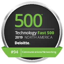 QOS Networks Ranked Number 94 Fastest Growing Company in North America on Deloitte's 2019 Technology Fast 500™