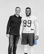 Pat Cavanaugh and Aaron Donald