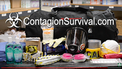 You'll find containment suits, gloves, boots, goggles, respirators, disinfectants and more at www.contagionsurvival.com