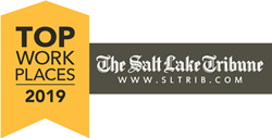 Salt Lake Tribune Top Workplaces 2019 logo