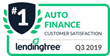 RefiJet Is LendingTree's Top-Rated Auto Refinance Company for the Fourth Consecutive Quarter