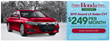 Happy Honda Days Sales Event Highlights Holiday Season at Earnhardt Honda