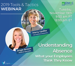 "DMEC Tools and Tactics Webinar ""Absence Uncovered: What Your Employees Think They Know"""