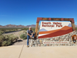Erwin at the Death Valley National Park sign