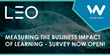 LEO and Watershed's Fourth Annual Measuring the Business Impact of Learning Survey Now Open