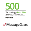 MessageGears Named One of the Fastest Growing Companies in North America on Deloitte's 2019 Technology Fast 500™