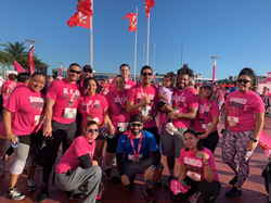 MaintenX International team members ran in the 7th annual Treasure Chests 5K + Fun Run in Tampa, Florida to help support breast cancer awareness and research.
