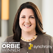 Large Enterprise ORBIE WInner, Carol Juel of Synchrony