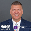 Enterprise ORBIE Winner, Leonard Peters of New York University