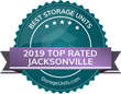 StorageUnits.com Names Top Storage Facilities in Jacksonville, FL for 2019