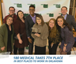 180 Medical is Proud to Announce Being Recognized as One of the Best Places to Work in Oklahoma for the 10th Year