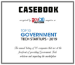 Casebook PBC Named A 2019 Top 10 Government Tech Startup