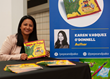 "Children's author Karen Vasquez O'Donnell appears at a recent book signing event promoting her new work ""Pepe and Pako: Cross-Country Adventure."""