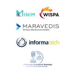 Joining Minim and Maravedis are the Wireless Internet Service Providers Association (WISPA); host of the Broadband World Forum, Informa Tech; and service provider Community Broadband Networks