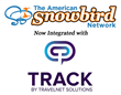 TravelNet Solutions, owner of TRACK Hospitality Software, announces integration with The American Snowbird Network by Clearle.