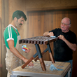 "Woodcraft's ""Build It!"" Sweepstakes Winner Learns Woodworking Skills While Crafting a Bench"