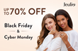 Jeulia Jewelry Announces Black Friday And Cyber Monday Discount 2019, Offering Up To 70% in Savings