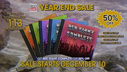 Red Giant Year End Sale