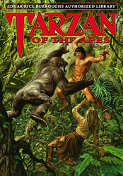 Taran of the Apes book by Edgar Rice Burroughs
