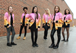 Rising Canadian Pop Group Girl Pow-R Performed at Santa Clause Parades