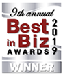 Best in Biz Awards 2019 silver winner logo