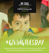 No Frill Bar and Grill has provided nearly $5,000 to ORPHANetwork's #GivingTuesday campaigns