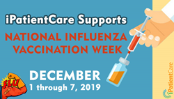 iPatientCare Supports National Influenza Vaccination Week 2019