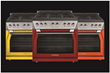 Forza announces warm color palette for its Pro-Style Gas Ranges