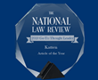 "The 2019 National Law Review ""Go-To Thought Leader"" Awards Announced Honoring Excellence in Legal Thought Leadership"