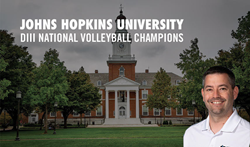 Matt Troy,  Centennial Conference Coach of the Year and Head Coach of Maryland Nike Volleyball Camp at Johns Hopkins University.