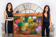 Stunning art painted by Mirit goes to popular actress