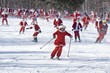 240 Santas Hit the Slopes, Raising $6,200 for Local Non-Profit