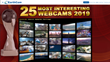 """25 Most Interesting Webcams of 2019"" Announced By EarthCam"