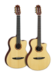Yamaha NX Series Nylon-String Acoustic-Electric Guitars Feature Contemporary Body Styles That Will Appeal to Live Performers