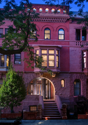 19 West 120th Street, standout Harlem two-family townhouse built in 1887 by Alfred Barlow