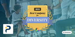 Personiv wins Best Company for Diversity from Comparably