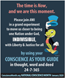 The American Meditation Institute Inaugurates National Conscience Month to Instruct and Inspire Humanity on How to Let Their Conscience be Their Guide in Making Choices
