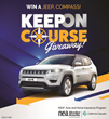 "NEA Members Who ""Keep on Course"" Can Win a Vehicle From California Casualty"