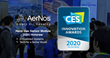 AerNos Named CES 2020 Innovation Award Honoree in Two Categories